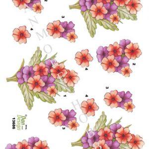 3d ark dan design blomster