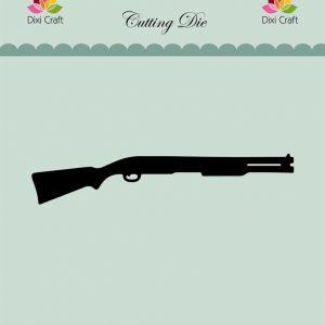 dixi craft cutting die figur med gevær