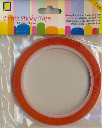 Extra sticky tape i rød
