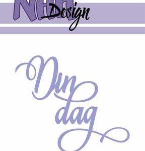 nhh design dies med tekst din dag