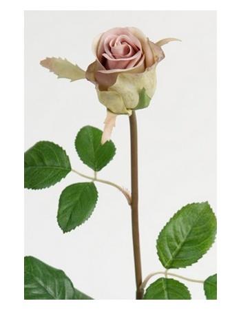 Rose 50 cm støvet lilla 2889-43